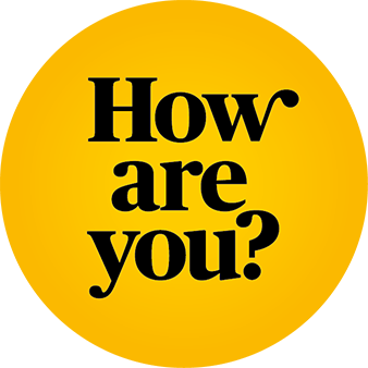 How are you? logo
